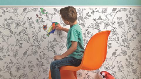 Rasch'tan Çocuklara Özel Duvar Kağıdı Koleksiyonu