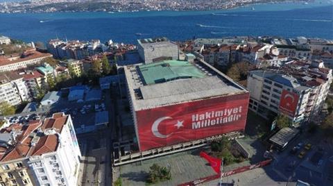 Atatürk Kültür Merkezi Havadan Görüntülendi
