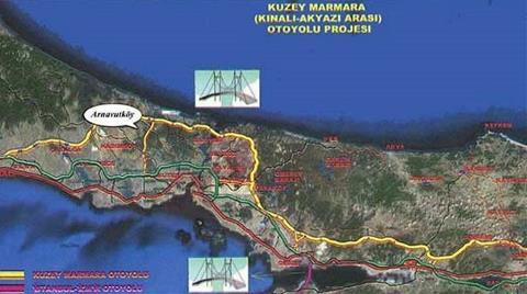 """Köylülerden """"Kuzey Marmara Otoyolu"""" Protestosu"""