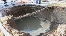 O Şehirde Şok: Kanalizasyon Hattı Çöktü