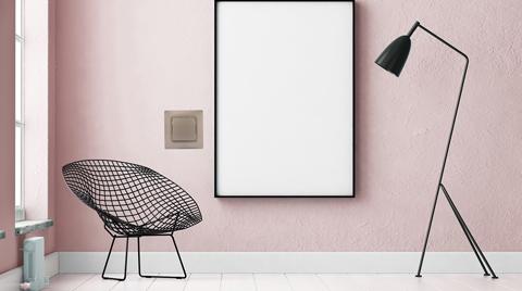 Legrand Anahtar-Priz Serisinde Roze Rengi