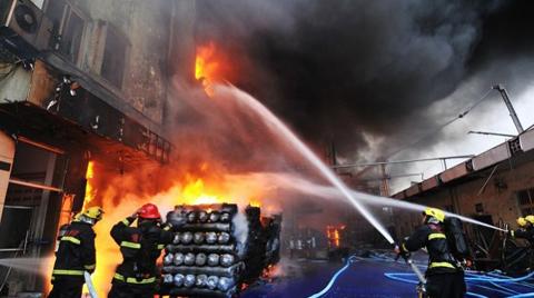 Binalar Yangından Korunamıyor