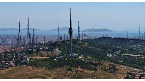 Çamlıca'daki TV Kuleleri Yıkılacak!