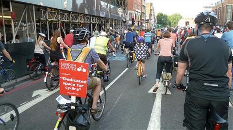 Londra Bisiklet için 770 Milyon Pound Harcayacak