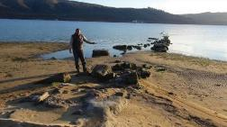 Deniz Çekildi, Antik İskele Ortaya Çıktı