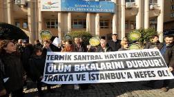 Kuzey Ormanları Savunması'ndan Termik Santral Protestosu