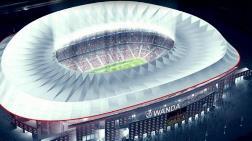 Atletico Madrid'e 220 Milyon Avroluk Yeni Stad!