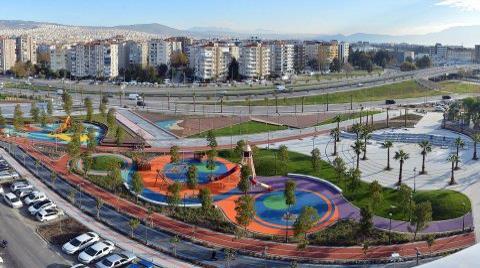 Büyükşehir'den 'Çok Renkli' Bir Park Geliyor