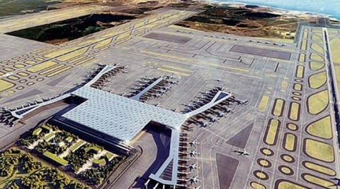 3. Havalimanının Granitleri Brezilya'dan!