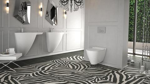 Bien'den Siyah-Beyaz Özel Banyolar