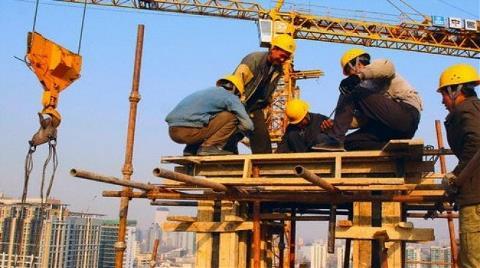 İnşaat Sektörü Yüzde 7,7 İstihdam Sağladı!