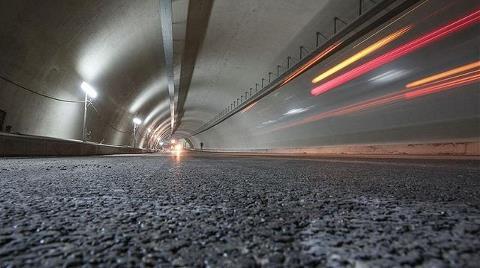 Avrasya Tüneli'nin İçi İşte Böyle Görüntülendi