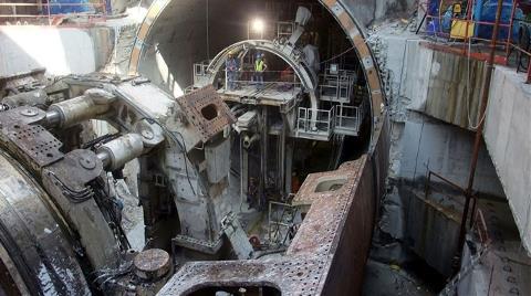 Avrasya Tüneli İnşaatında İlginç Yöntem!