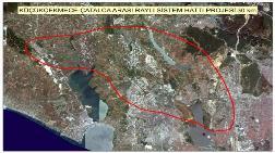 İstanbul'un 7 İlçesini Birbirine Bağlayacak Raylı Sistemin Rotası Çiziliyor