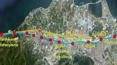 İzmir'e Metro Müjdesi: Başbakan İmzaya Açtı