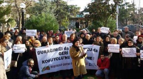 Avrasya Tüneli'ne İlk Protesto