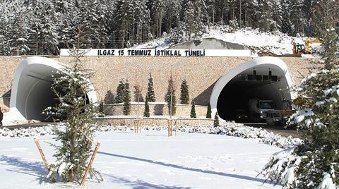Ilgaz Tüneli Açıldı