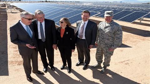 Las Vegas Artık Sadece Güneş Enerjisi Kullanacak