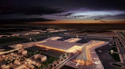 İstanbul Yeni Havalimanı'nda Çalışmalar Yüzde 42 Seviyesinde!