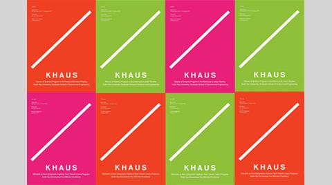 KHAUS / Mimarlık ve Kent Çalışmaları İngilizce Tezli Yüksek Lisans Programı
