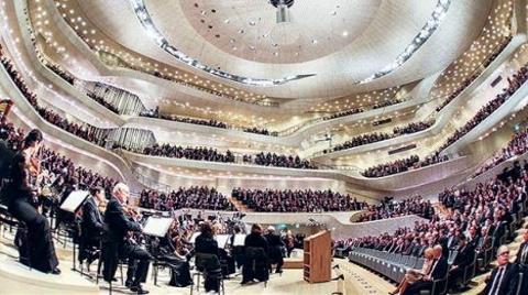 Almanya'ya 3.2 Milyar TL'lik Dev Konser Salonu!