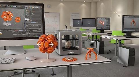 Türkiye'nin İlk 3D Yazıcı Merkezi Kuruluyor