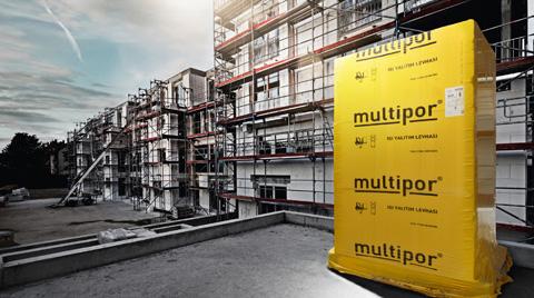 'Multipor' Türk Ytong ile Artık Türkiye'de