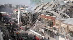 Tahran'da 17 Katlı Bina Çöktü