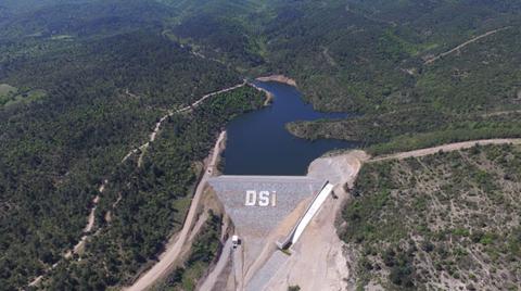 Çanakkale Lapseki Barajı Tamamlandı