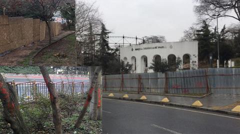 Maçka Parkına Tünel İnşaatı Yapılıyor!