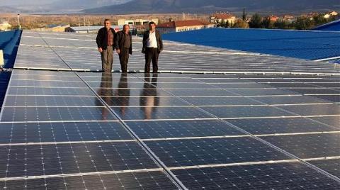 Pazar Yeri Çatısına Güneş Enerjisi Santrali