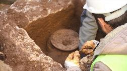 İnşaat Alanındaki Kazılarda Tarihi Ölü Saklama Kabı Bulundu