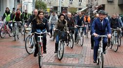 Bu Belediyede Herkes Bisiklete Biniyor