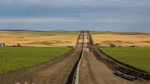 Kuzey Dakota Petrol Boru Hattına Onay Geliyor