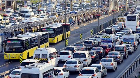 Araç Sayısı 21 Milyonu Aştı