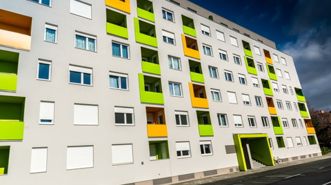 Baumit'den Renkli Binalar