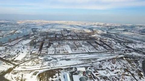 3. Havalimanı İnşaatı Havadan Görüntülendi!