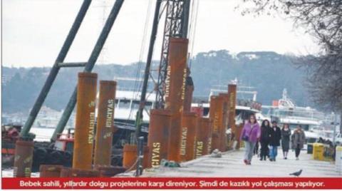 İstanbul'da Denizden Kopuş