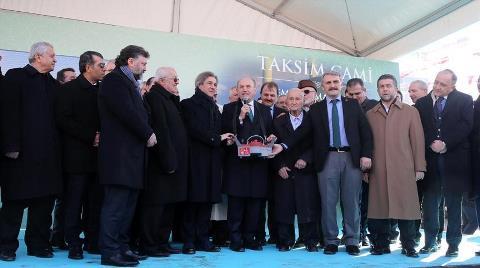 Taksim Camisi'nin Temeli Atıldı!