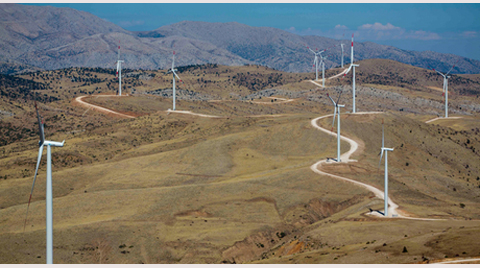 Türkiye'nin İkinci Büyük Rüzgar Santrali Devreye Alındı