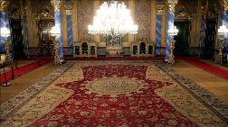 Beylerbeyi Sarayı'ndaki 136 Metrekarelik Halı Restore Edildi