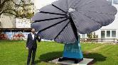 Güneşten Gelen Enerjiyi Toplayan Akıllı Çiçek Geliştirildi