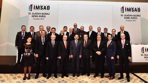 Türkiye İMSAD'da Bayrak Değişimi