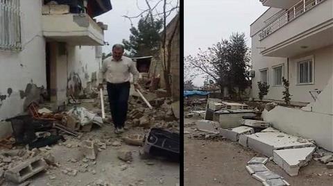 Adana ve Şanlıurfa Depremler: Samsat'ta Yıkılmayan Ev Yok