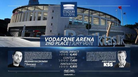 Vodafone Arena Dünyanın En İyi Stadı Seçildi