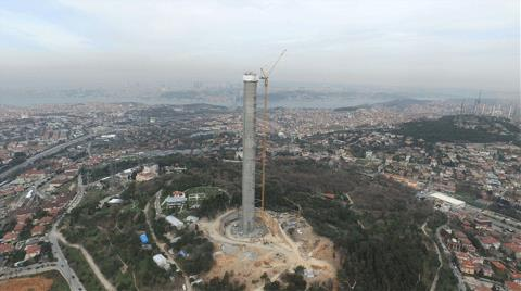 Çamlıca Kulesinde 200 Metre Aşıldı!