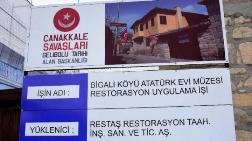 Bigalı'da Atatürk Evi Restore Ediliyor