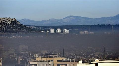 Antalya'da Hava Kirliliği Ülke Sınırının Üstünde