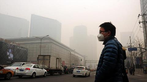Çin'deki Hava Kirliliği İklim Değişikliğiyle Bağlantılı