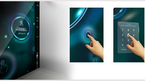 """""""Akıllı Asansör"""" Hyundai Anyvator"""